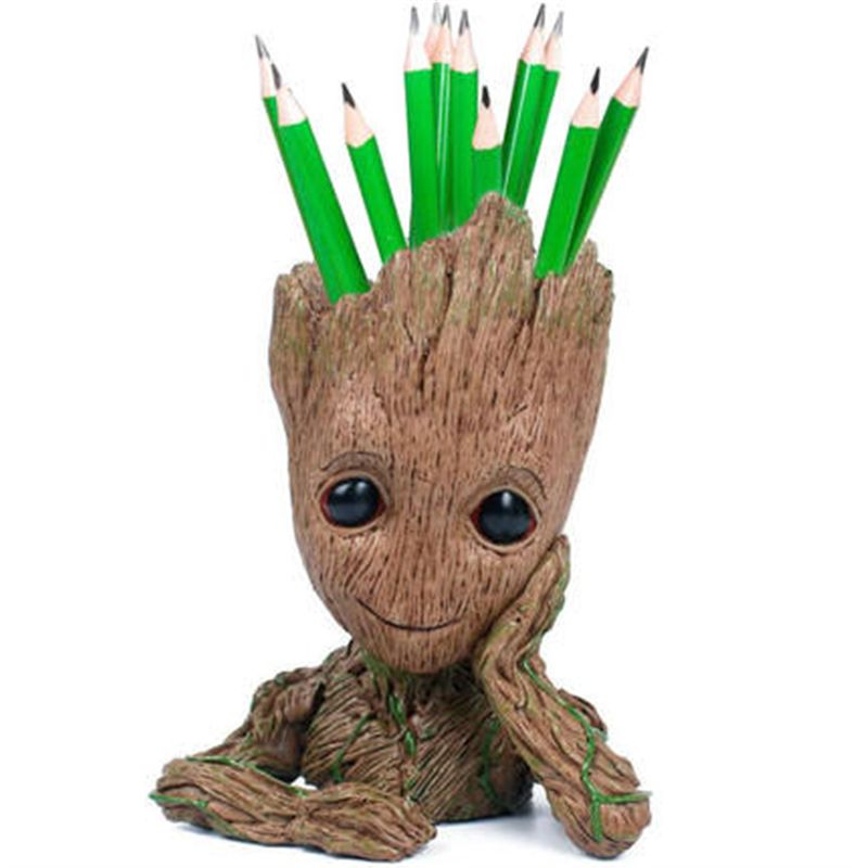 Baby Groot Flower Pot With Flower Seeds